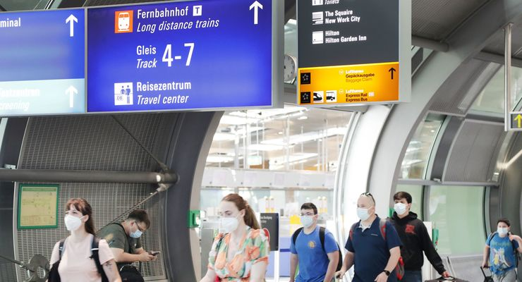 Frankfurt Flughafen 2021