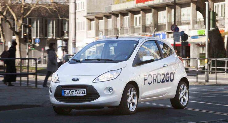 """""""FORD2GO"""": Ford kŸnftig erster Hersteller mit bundesweitem Carsharing-Angebot"""