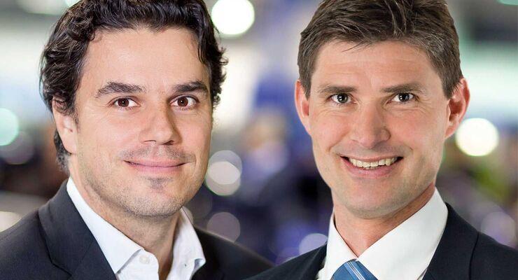 Andreas Mayer (links), Kaare Neergaard