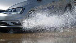 Aquaplaning, Regen, Michelin