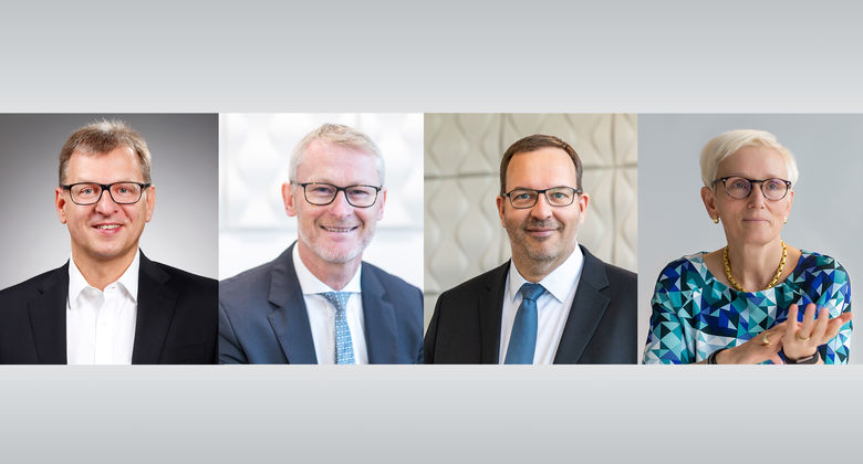 Armin Villinger, Knut Krösche, Hendrik Eggers, Silke Finger, VW Leasing