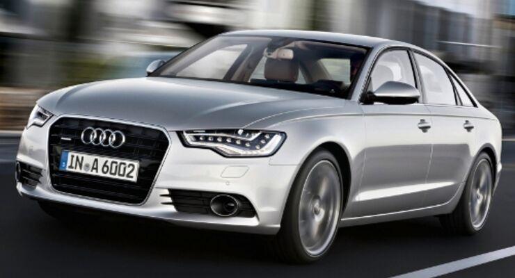 Audi A6 betritt  die Bühne