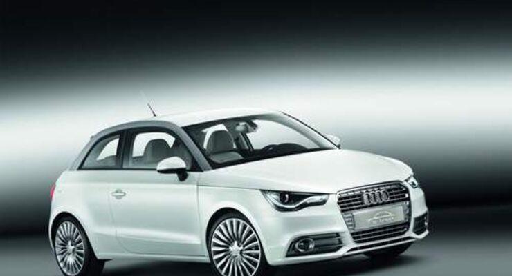 Audi startet Elektroautoflotte in München