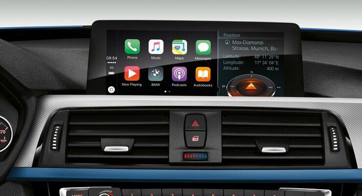 BMW Apple car play