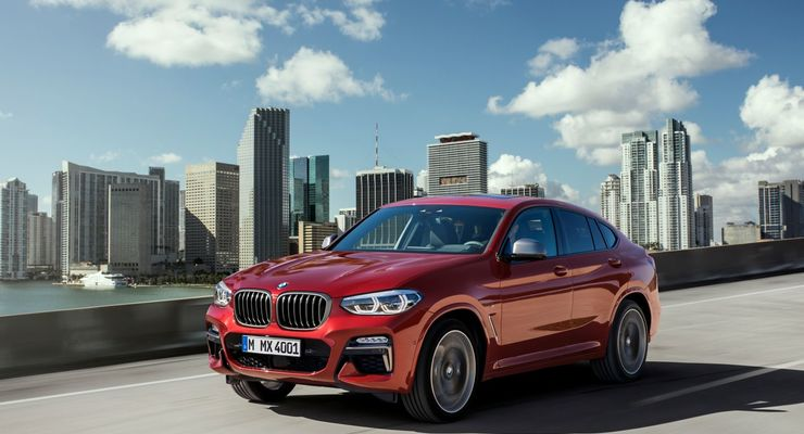 bmw x4 2018 suv coup in neuauflage firmenauto. Black Bedroom Furniture Sets. Home Design Ideas