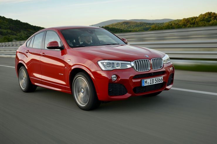 Fahrbericht Bmw X4 Die Mischung Machts Firmenauto