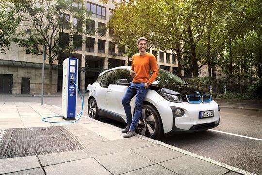 BMW i3 Ladesäule