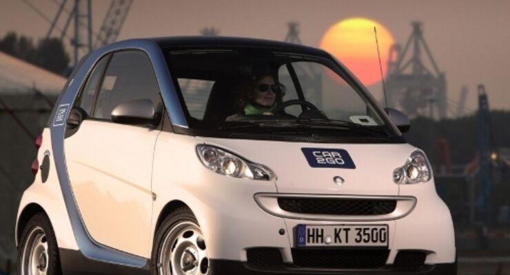 Car2go für Hamburg