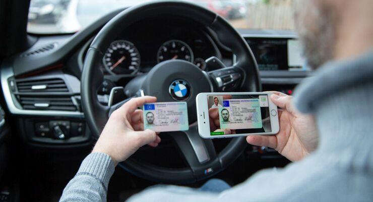 CheckTech DRIVE Digitale Führerscheinkontrolle