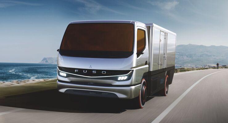 Daimler Brennstoffzelle Nutzfahrzeug 2021