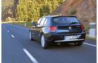 Der BMW 116d von hinten