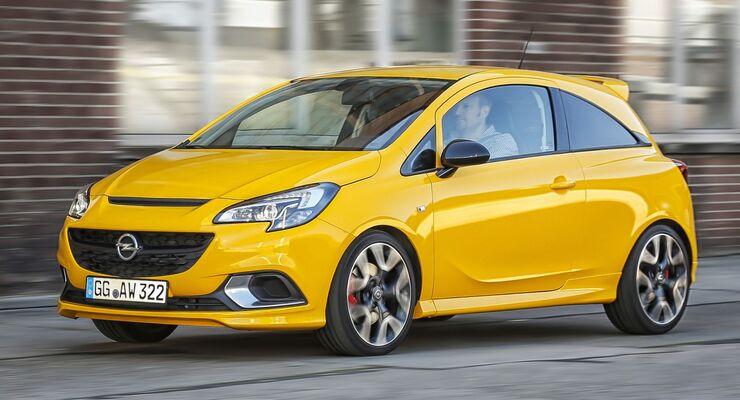 Der neue Opel Corsa GSi