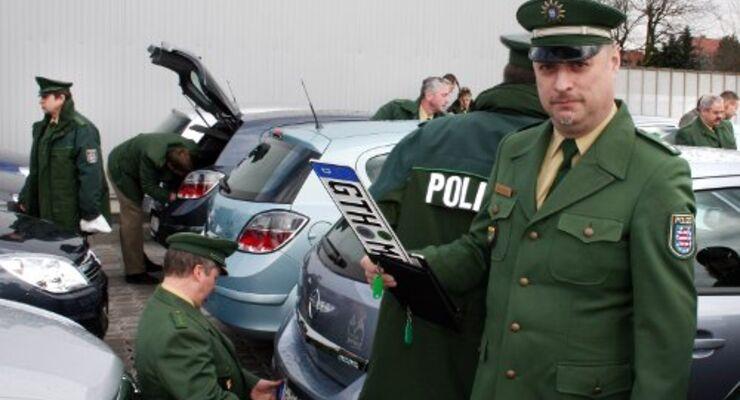 Die Thüringer Polizei setzt auf Opel