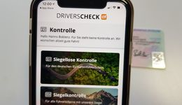 Drivers Check, Führerscheinkontrolle, App