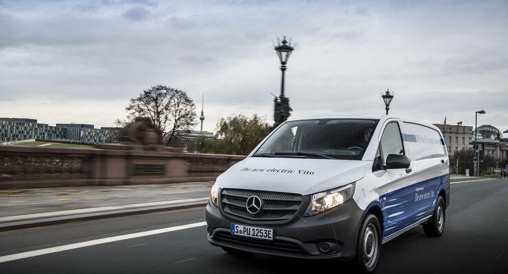 Elektrische Transporter von Mercedes-Benz Vans: eVito ab sofort bestellbar; Ökosystem für die Elektrifizierung gewerblicher Flotten