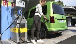 Erdgastankstelle CNG VW Caddy 2017