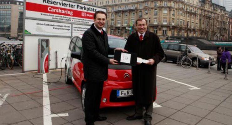 Erster E-Citroën für Deutsche Bahn