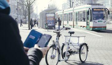 Fahrrad autonom Uni Magdeburg