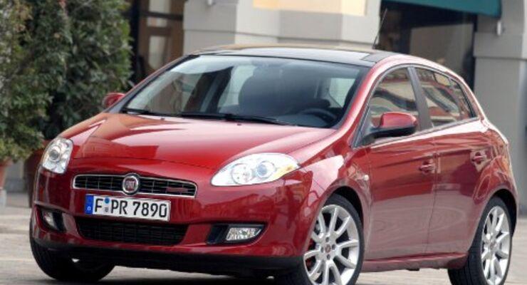 Fiat Bravo kommt mit Flottenpaket