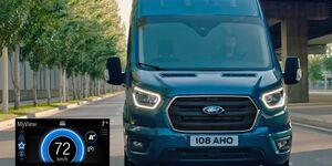 Ford EcoGuide erstmals für Ford-Nutzfahrzeuge