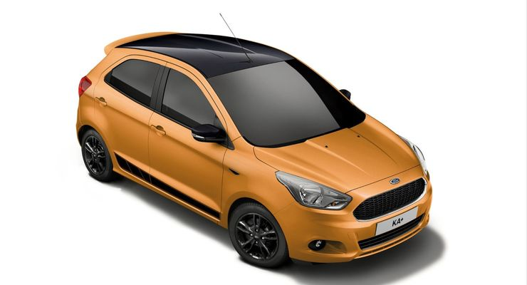 Ford Ka+ Black Edition