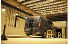 Ford Test Zentrum Dunton bei London Abgas Geräusch Umbauten