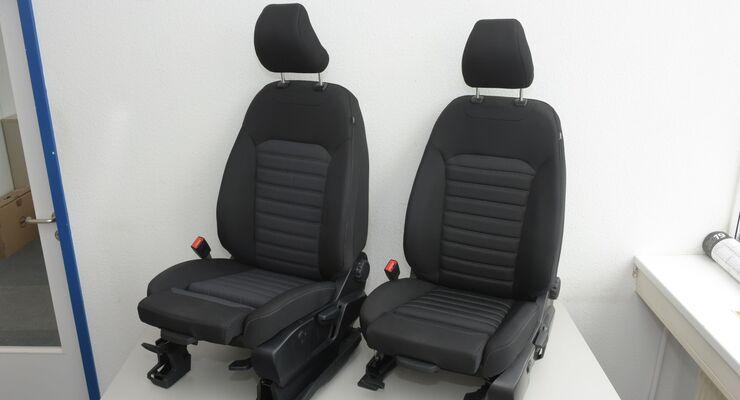Ford mit Ergonomie-Sitzen