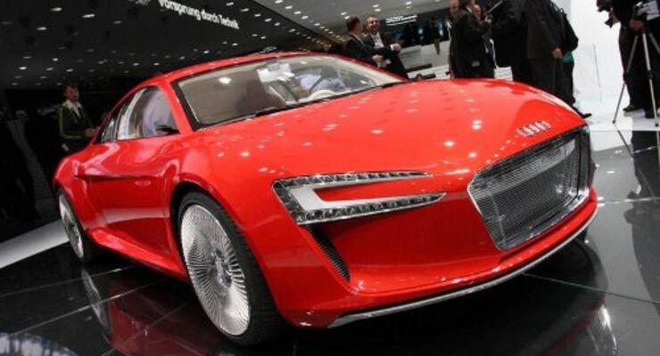 IAA: Audi zeigt Elektrorakete
