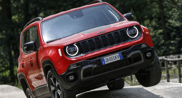 Jeep Renegade 2021, offroad