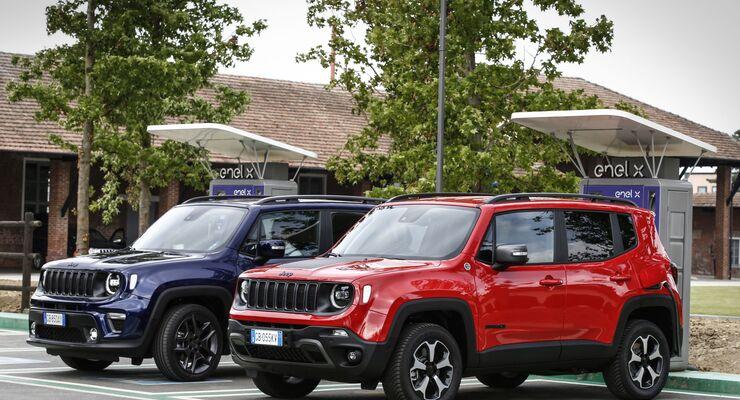 Jeep Renegade Compass 2021,
