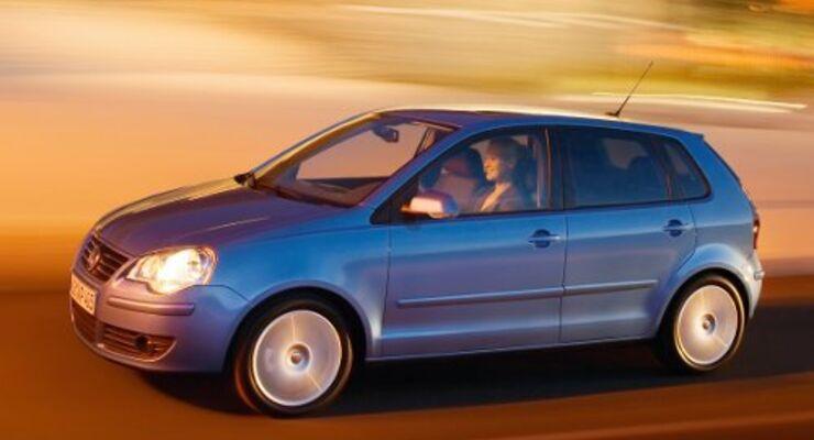 Kleinwagen: VW Polo an der Spitze