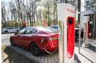 Ladesäulen Tesla 2018