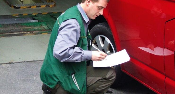 Leasing, Fahrzeugrückgabe, Gutachter, Dekra