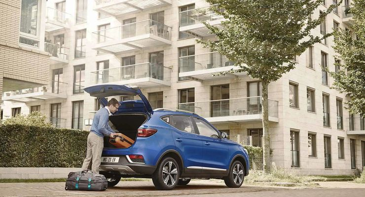 MG ZS 2021, Reise