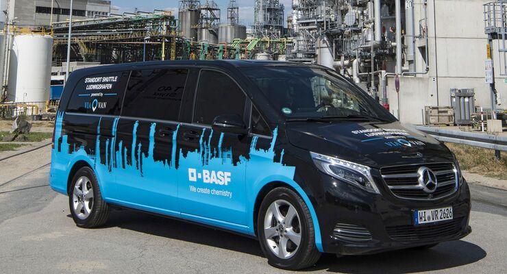 Mercedes-Benz Vans und BASF: Mercedes-Benz Vans und BASF vereinbaren Zusammenarbeit im Bereich MobilitätMercedes-Benz Vans and BASF: Mercedes-Benz Vans and BASF agree cooperation in mobility sector