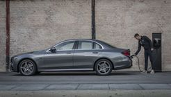 Mercedes E-Klasse 2019, Plug-in Hybrid, Kabel, laden, Ladestation