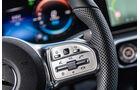 Mercedes EQC, 2019, Elektroauto, E-Auto, lenkrad, tasten, telefon, lautstärke
