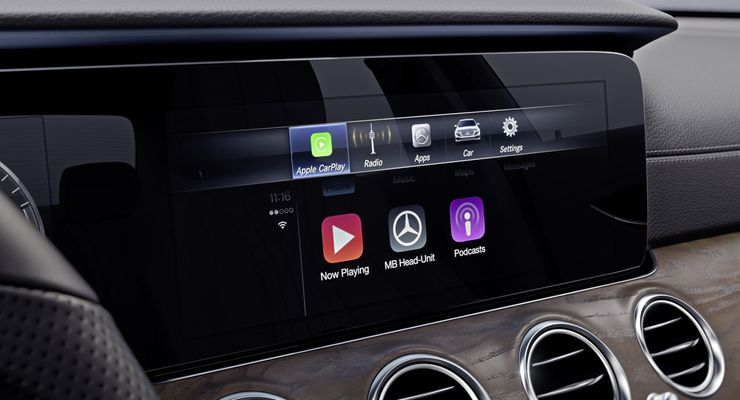 Mercedes Infotainment