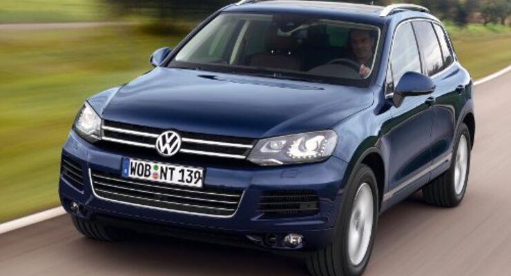 Neuer Diesel für den VW Touareg