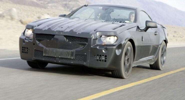 Neuer Mercedes SLK glänzt beim Thema Sicherheit