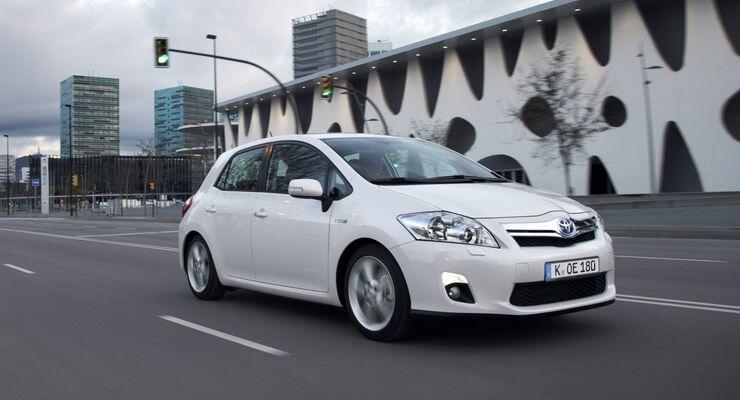 Neuer Toyota Auris 2013