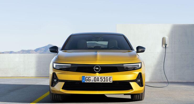 Opel Astra 2022, Plug-in-Hybrid, WWallbox, laden