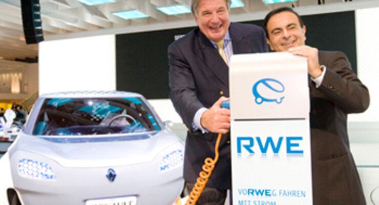 Renault-Nissan und RWE geben Strom