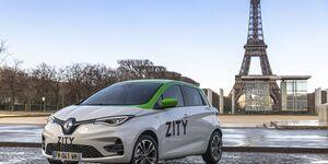 Renault Zoe, Paris, Carsharing, Zity