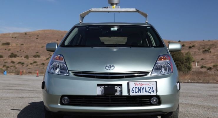 Roboter-Auto, Kalifornien