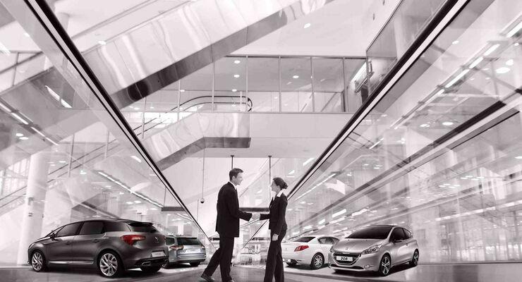 Sixt Corporate CarSharing wird als eigenständiges Produkt von Sixt Leasing und PSA positioniert und besteht unabhängig vom Premium-Carsharing-Angebot DriveNow.