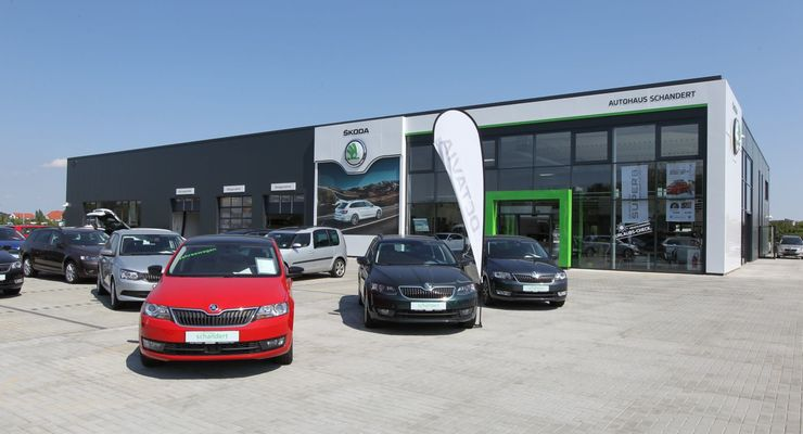 Skoda Autohaus Dessau Händler Autohandel Verkauf Autoverkauf