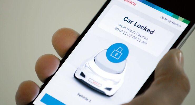 Smartphone als Autoschlüssel