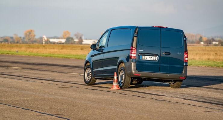Transporter-Vergleichstest: Teststrecke