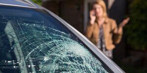 Unfall Glas